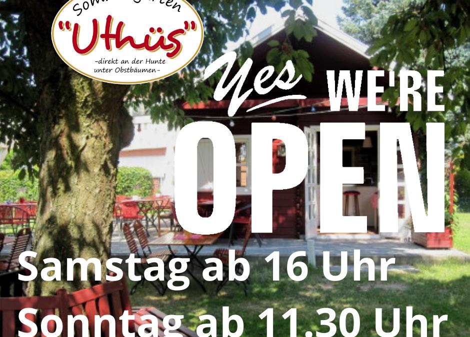 OPEN AGAIN!